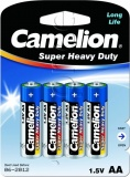 Фото Батарейки Camelion Super Heavy Duty Blue AA R6 (R6P-BP4B) 4 шт