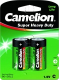 Фото Батарейки Camelion Super Heavy Duty Green C R14 (R14P-BP2G) 2 шт