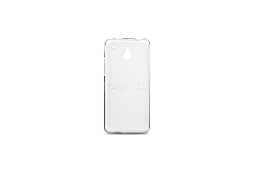 Фото Чехол для HTC One Mini Drobak Elastic PU White Clear (218879)