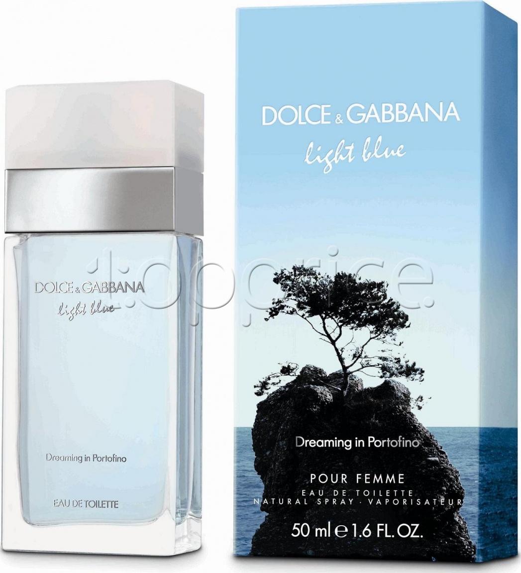 dolce gabbana light blue dreaming in portofino edt 50 ml. Black Bedroom Furniture Sets. Home Design Ideas